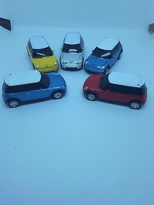 Old used toy mini car collection