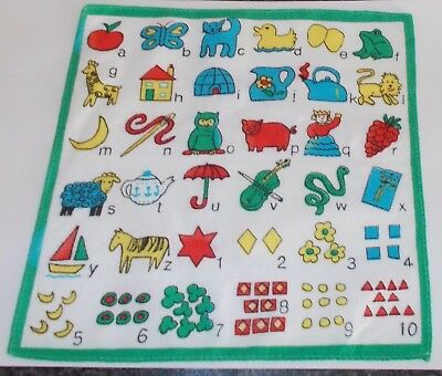 Vintage Childrens Handkerchief cotton