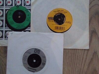 "vinyl 7""records x3 thin lizzy singles"
