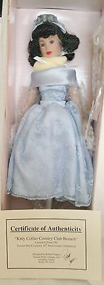 """Tonner COUNTRY CLUB BRUNCH Kitty Collier 18"""" doll COA 10th Anniversary sign NRFB"""