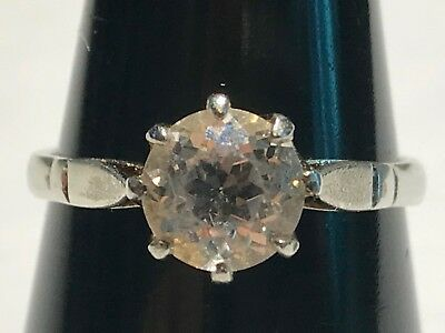 Solid Silver Ring Stunning Not Scrap Lot 191M