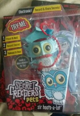 Monster high secret creepers pets