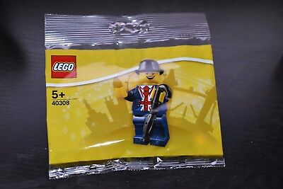 lego 40308 Brand New Sealed London Leicester square  Minifigure Polybag Rare