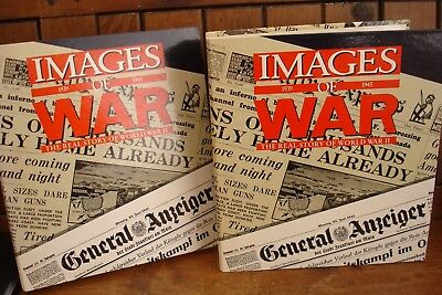 IMAGES OF WAR MAGAZINE- Two A4 Ring Binders.