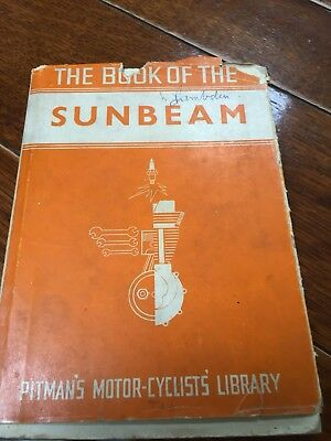 The Book Of The Sunbeam Pitman's Motor-Cyclists Library