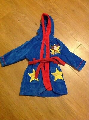 Disney Store Toy Story Dressing Gown 12-18months