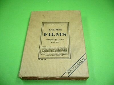 607K02 EASTMAN FILMS ANTI-HALO SUPER SENSITIVE PANCHROMATIC 9 x 12 cm