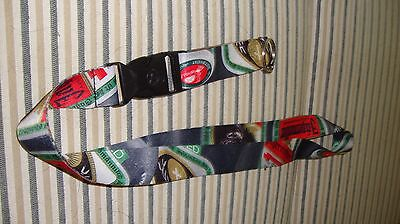 Jagermeister Lanyard ID Badge Holder Key Ring Necklace    Charity