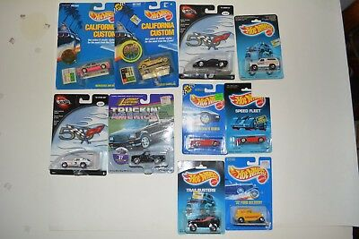 Lot of 10 Cars 1:64 Hot Wheels and Johnny Lightning