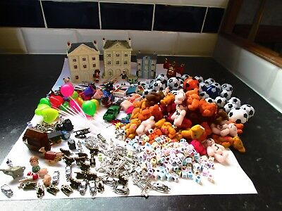 Very large lot  (last we have) of toys for dolls house or shop