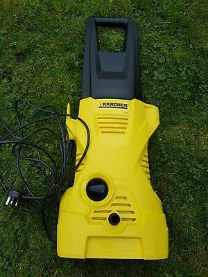 how to use a karcher k2 compact pressure washer