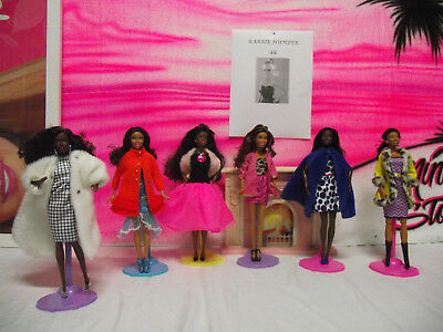 Barbie dolls vintage clothes nuimber 44 lot of six