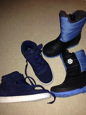 Bundle Of Boys Winter Shoes Size uk 13