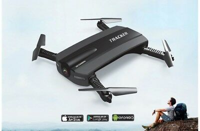 Foldable JXD-523 WIFI Drone Quadcopter - G-Sensor + Camera + FREE DELIVERY
