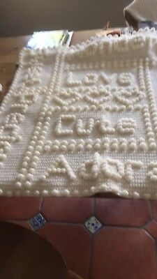 Hand Knitted Baby Blankets