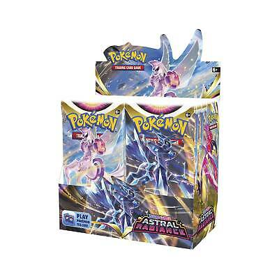 10 SWORD & SHIELD Booster Pack Lot - Sealed From Box Pokemon Cards PRESALE 2/6
