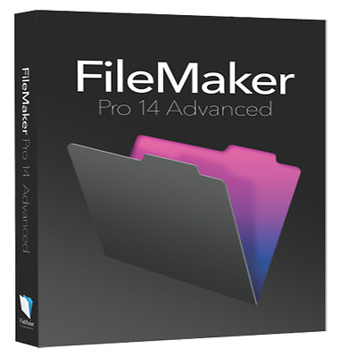 FileMaker Pro 14 Advanced - Full Program - Mac