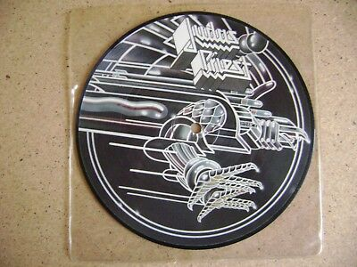 """Judas Priest You've got another thing comin' 7"""" Vinyl Single Picture Disc 1982"""