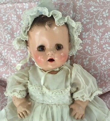 """BESTSY WETSY DOLL IDEAL DOLLS 1937 1938 11 1/2"""" Antique Vintage 1930s"""
