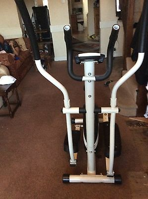 cross trainer with meters