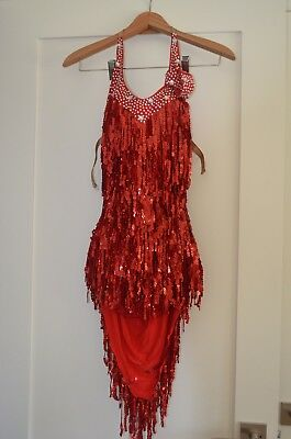 Ladies Latin Dance Competition Dress New with Tags
