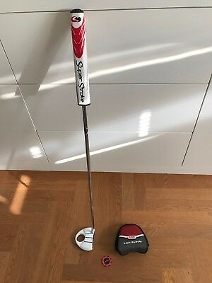 TaylorMade Rossa Corza Ghost Putter -34 inch- SuperStroke Fatso 5.0 + headcover