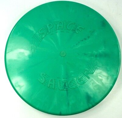 "Vintage 9 ½"" Plastic Toy ""Space Saucer"" (Etna Nh) In Orig Pkg Nr"