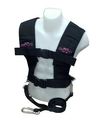 CFF Pink Sled and Lead Harness-Small/Medium. Shipping is Free
