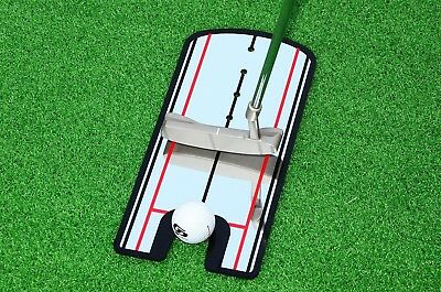Golf Putting Alignment Mirror - Portable Practise Putting anywhere,Training