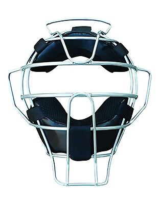 (Silver) - Coast Athletic Ultra Light Umpire's Mask. Shipping Included
