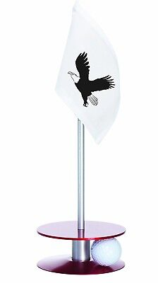 Anne Stone Golf Putt-A-Round Eagle Flag 1 Putting Aid, Red, Small