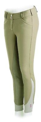 (28 Regular, Tan) - Tredstep Rosa Ladies Knee Patch Breech. Tredstep Ireland