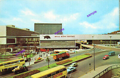 BIRMINGHAM 1960s BULL RING,OLD CARS BUSES,LORRY NOW CLASSICS,MANY CHANGES SINCE
