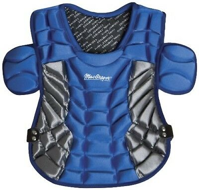 (Royal) - MacGregor B80 Women's Softball Catcher Protector. Free Delivery