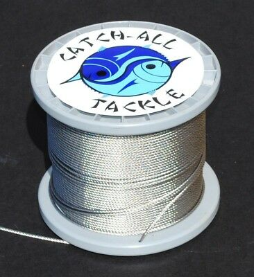 49-strand Cable Bright 7x7 Stainless Steel Cable 150m 220kg 1.6mm. Brand New