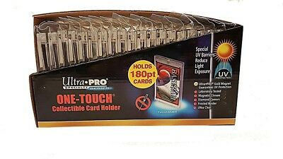 Ultra Pro One Touch Magnetic Card Protector - 180pt - 25 Pack. Brand New