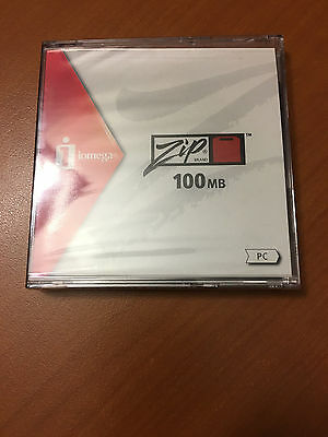 Zip100 - Pc Formated - Iomega - New
