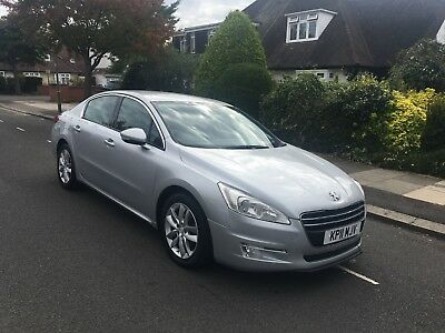 2011 Peugeot 508 Active Silver HDI 2.0 Diesel Manual, Hpi clear, No Reserve