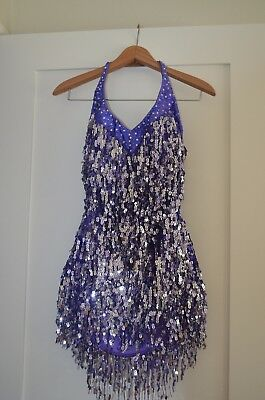 LATIN DANCE DRESS  COMPETITION, New with Tags
