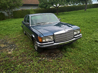 Mercedes 280 SE W116 ( Restaurationsobjekt )