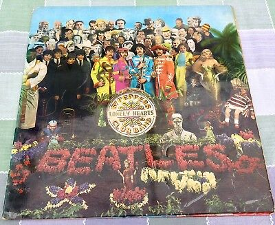 THE BEATLES 'SGT PEPPERS LONELY HEARTS CLUB BAND' 1967 UK 1st PRESS MONO!