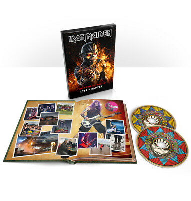 IRON MAIDEN-the Book of Souls Live chapter (Deluxe-edition) 2 CD-NEW 17-11-2017