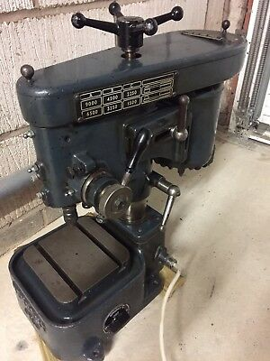 Herbert bench top pillar drill