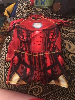 Boys Size 7-8 Ironman Swim Set