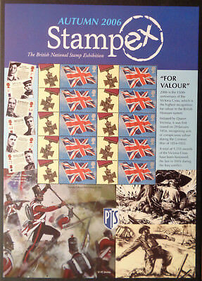Stampex Autumn 2006 GB Business Smilers Sheet - BC095   MNH