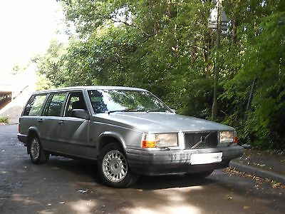volvo 740 Turbo Diesel Estate Manual With 77K From New