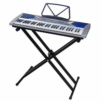 Clavier DynaSun MK2054 LCD 54 Touches E-Piano Keyboard Enseignement avec Stand