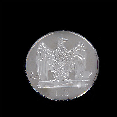 1Pc Silver-Plated Italy Eagle of the Kingdom Coins Commemorative Coin  CA