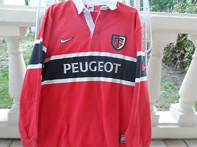Maillot rugby vintage STADE TOULOUSAIN 1995/96