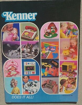 Kenner Vintage Toy Fair Dealer Catalog from 1980 - RARE!!!!